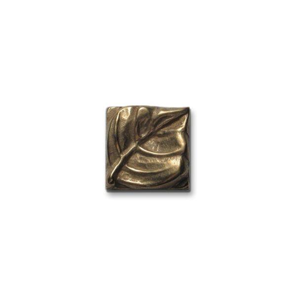 Foundry Art Aspen Leaf metal accent inset tile
