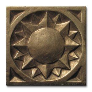 Sun<br>3x3 inch tile