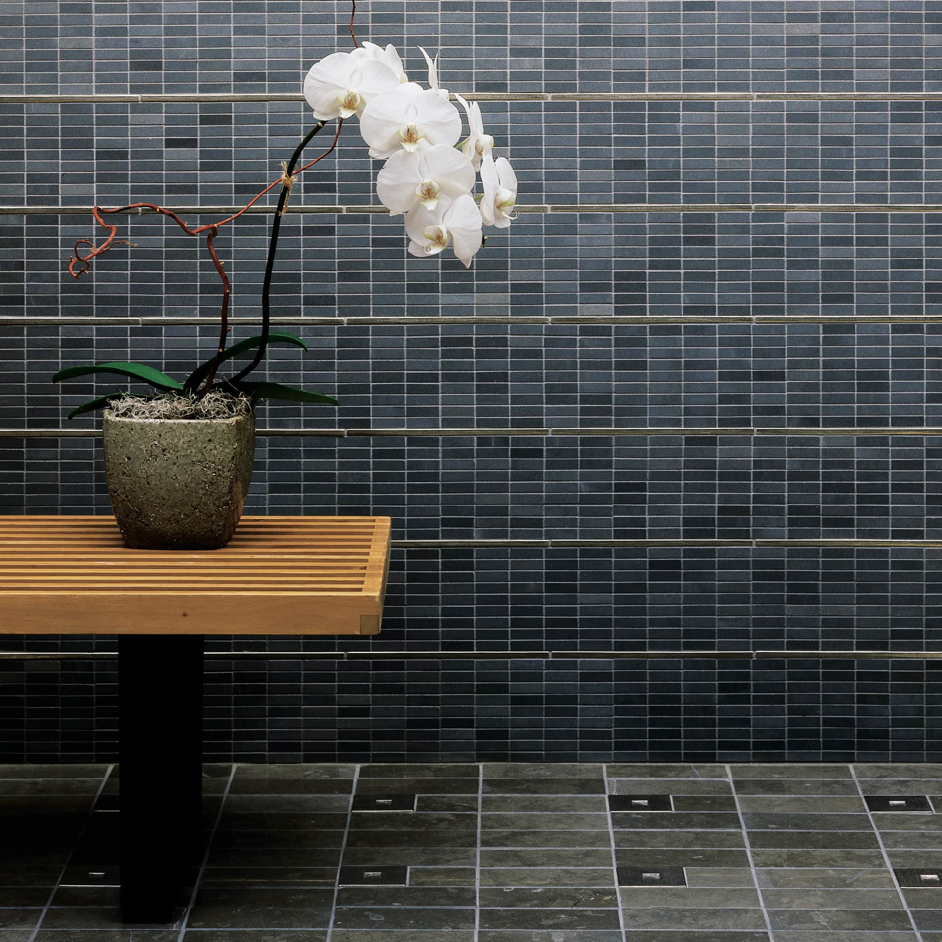 Metal accent tiles - Foundry Art Bronze - liners and insets for floor and wall