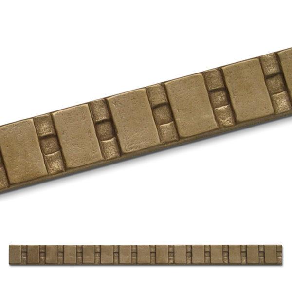 Foundry Art Ladder metal accent liner tile Detail