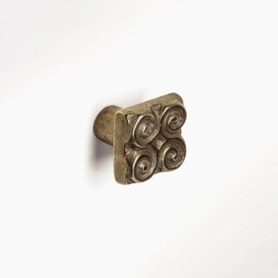 Foundry-Art-Pinwheel-knob-Traditional-Bronze-mounted-1